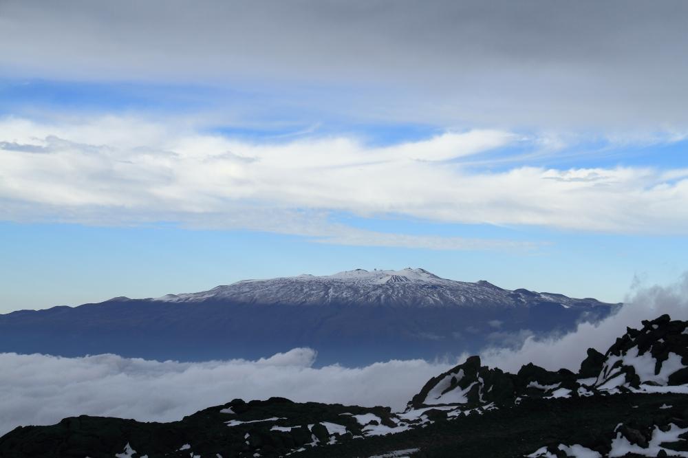Snow on Mauna Kea.  Photo Courtesy of Cisco Naboa