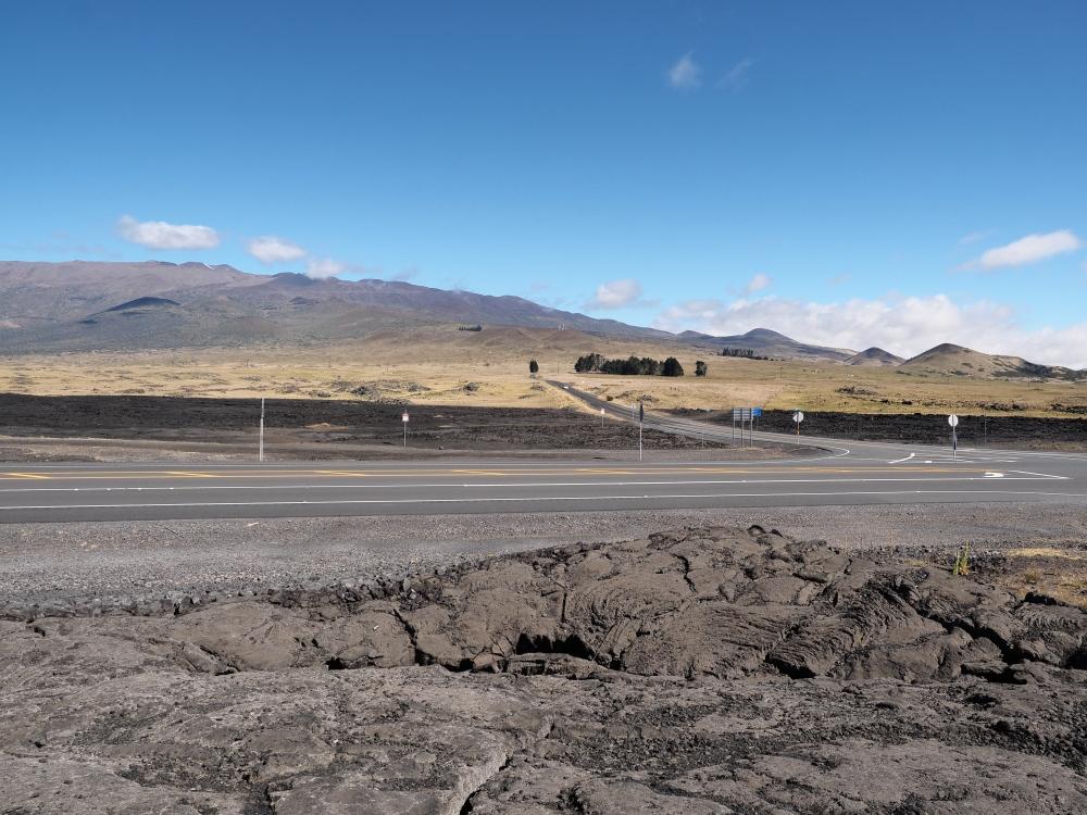 Mauna Kea from Saddle Rd