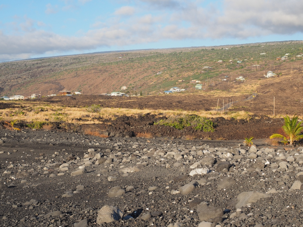 The Town of MIlolii On The Slope of Mauna Loa