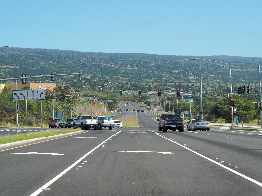 Main Highway Through Kona